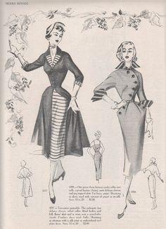 I love the rounded jacket opening--Rhonda's Creative Life: Monday Morning Inspiration