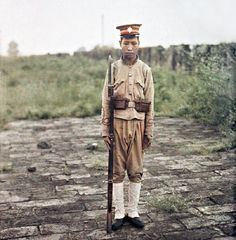 Albert Kahn (阿尔伯特·卡恩), China Qing Dynasty (c. <1912) autochrome