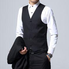 3 Piece Set, Slim fit Jackets + Pants + Vests, Blazer Coats Size - Live a Classic Styles Mens Fashion Suits, Fashion Pants, Mens Suits, Suit Men, Womens Fashion, White Wedding Suit, Wedding Suits, Green Tuxedo, Black Suit Dress