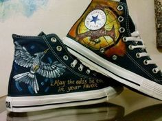 Hunger Games Fan Art / Shoes