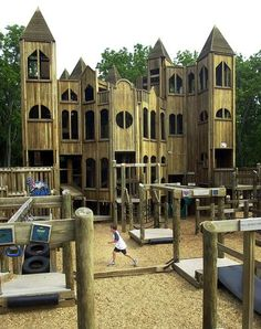 Kids Castle in Doylestown, Pa. Coolest. Playground. Ever. Can't wait to go back!