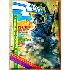 Zzap! 64: 1988 - Nr. 34 Predator, Retro Vintage, Gaming, Day, Cover, Videogames, Games, Blankets, Game
