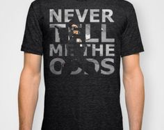 Star Wars Han Solo Never Tell Me The Odds Unisex Shirt