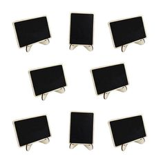 10pcs Mini Rectangle Chalkboards With Support For Message Board Signs Wedding Dinner Party Table Place Card Signs-in Party DIY Decorations from Home & Garden on Aliexpress.com | Alibaba Group