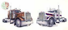 Truck Art, Trucks, Vehicles, Cars, Truck, Car, Vehicle, Tools
