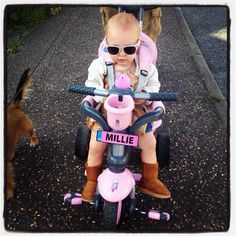 This is Millie :) #smartrike #cool #cute #pink #baby