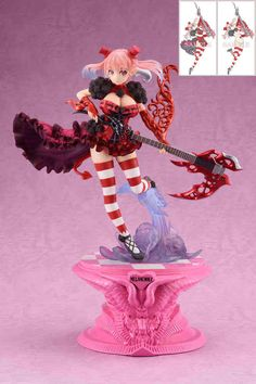 Seven Deadly Sins Melancholy Statue 1/8 Astaroth Limited Edition 22 cm