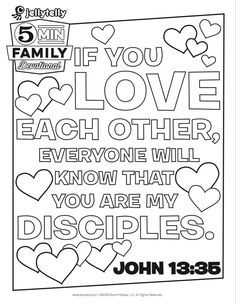 scripture coloring page Hebrews 13:8. Use at a bible study