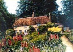 Thomas Hardy's Cottage by Liz Hilton