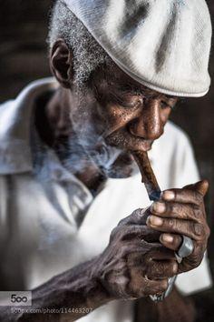 Smoking cigar by Rehahn_Photography. Please Like http://fb.me/go4photos and Follow @go4fotos Thank You. :-)