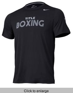 TITLE Boxing Nike Legend Bold Tee - click to enlarge