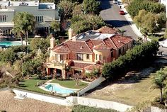 Christina Aquilera's home before she sold it and bought Ozzie Osbourne's.