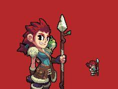 Helena #pixelart #character