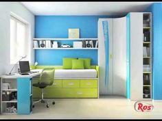 Por siempre jóvenes. El marcado y original diseño del mueble juvenil de la marca Ros
