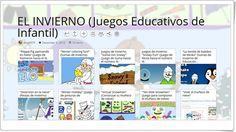 """""""10 juegos educativos de INVIERNO en Educación Infantil"""""""
