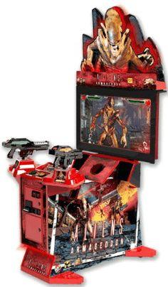 Aliens Extermination Deluxe 42 Quot Model Video Arcade Game