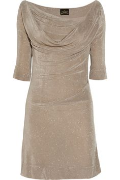 Vivienne Westwood Anglomania Donna glittered stretch-jersey dress