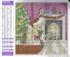teddy at fireplace chart