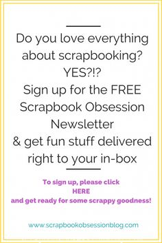 Scrapbook Obsession Blog: Almost to Goal . . . Just a Little More