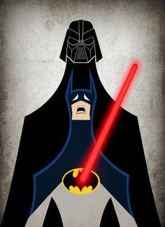 Round Robin #16- Batman vs Darth Vader by payno
