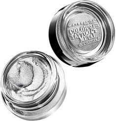 Maybelline Eye Studio Color Tattoo Metal Eyeshadow Silver Strike Ulta.com - Cosmetics, Fragrance, Salon and Beauty Gifts