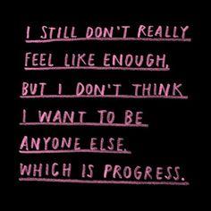 progress I guess