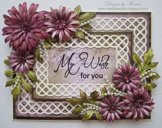 Heartfelt Creations Stamps & Spellbinders Dies.  Designed by Marisa Job