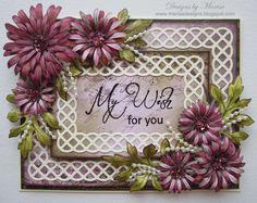 Heartfelt Creations Stamps & Spellbinders Dies.  Designed by Marisa Job
