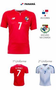 b04965c6bb 32 melhores imagens de 32 Camisas das Seleções da Copa do Mundo ...