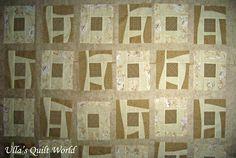 Ulla's Quilt World: Quilt blanket - Japanese flowers