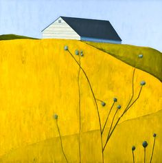 Houses, Clouds and Trees by Scott Redden scott redden paintings 7
