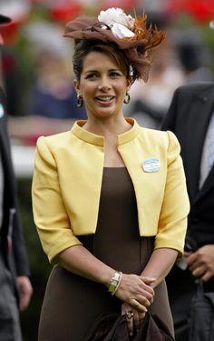 Princess Haya Bint Al Hussein of Jordan, Sheikha of Dubai/....This one is a great mystery to me!