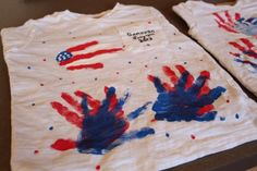4th of July Hand Print Crafts for Kids