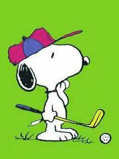 Snoopy Golfs