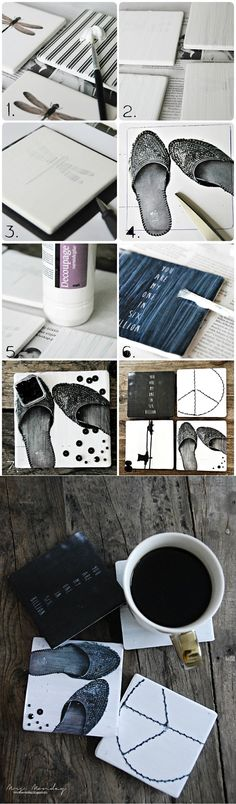 DIY: coasters | Diy Art Crafts