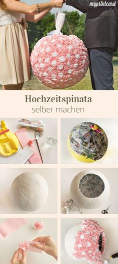 Hochzeitspinata selber machen We love wedding trends. Especially if they are linked to great wedding customs. It gets even more exciting when very special wedding customs from distant countries Wedding Pinata, Diy Wedding Veil, Wedding Beauty, Wedding Ceremony, Wedding Flowers, Wedding Day, Wedding Makeup, Wedding Venues, Wallpaper Rosa