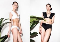 BETH RICHARDS is Quality Modern Swimwear. Made with the highest standards of quality, ethically manufactured in Vancouver, Canada. Ruffles, Bikinis, Swimwear, Bows, Modern, How To Wear, Fashion, Bathing Suits, Arches