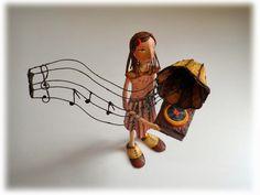 Vitrola Paper Mache Crafts, Dance, Blog, Movie Posters, Music, Phonograph, Paper Art, Handmade Dolls, Paper Mache Sculpture