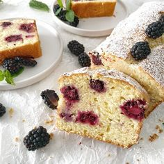 Joghurt-Cake mit Brombeeren | Food-Blog Schweiz | foodwerk.ch Loaf Cake, French Toast, Breakfast, Desserts, Blog, Cake Land, Blackberries, Yogurt, Switzerland