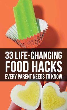 33 Life-Changing Food Hacks