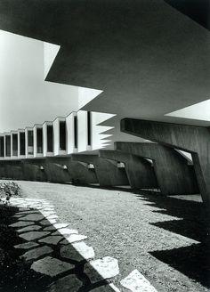Mivtachim Sanitarium Jacob Rechter  Images by: Architect Amnon Rechter