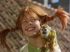 Pippi Longstocking.. Love All of 'em.. Remember watching this movie over and over.. Use to dress up as her for halloween., lol