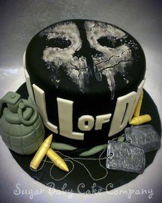 Call of Duty Cake - CakesDecor