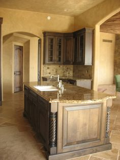 Tuscan Kitchen Like Color Cabinets N Walls
