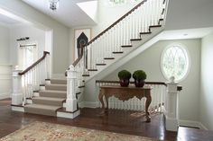 simple. classic foyer