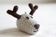 Reindeer amigurumi and other amigurumi inspiration (in Finnish)