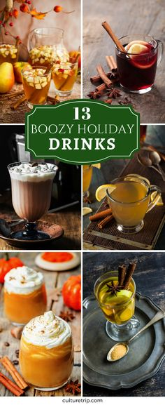 13 Boozy Drinks That Will Spice Up Your Christmas