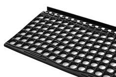 czarna mata na schiody długości 105x29 cm montowana na listwie lub monżna ją przykręcić od góry na śruby 4 szt. Computer Keyboard, Computer Keypad, Keyboard