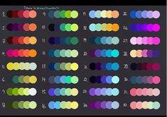 Skin Color Palette, Palette Art, Color Palate, Colour Palettes, Color Mixing Chart, Color Combos, Color Schemes, Skin Color Chart, Minecraft Banner Designs