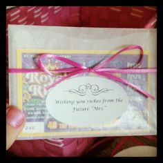 Bridal shower favor!
